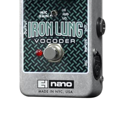 Electro Harmonix Iron Lung Nano Vocoder for sale