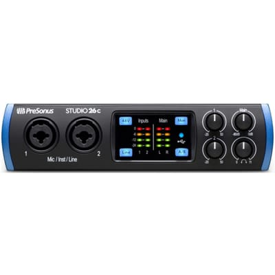 Presonus Studio 26c USB Interface
