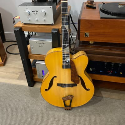 Ribbecke 40th Anniversary model arch top guitar for sale