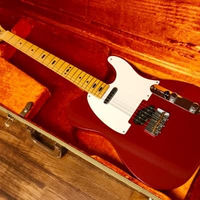 RARE 2007 Fender GE Smith Artist Series Telecaster - Dakota Red Finish
