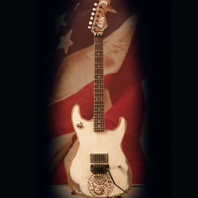AXN™ Painted Dragons Guitar AXN for sale