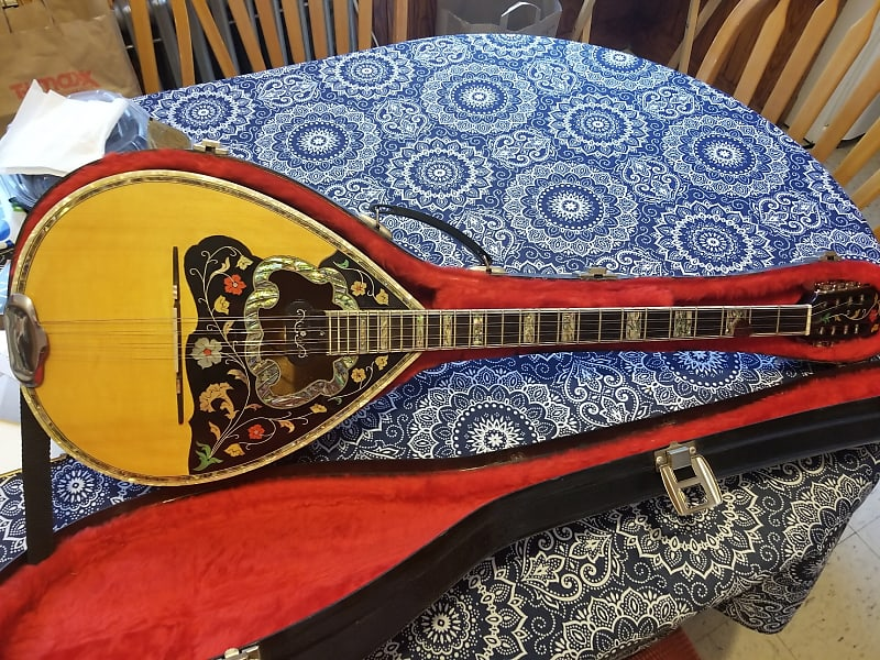 Greek Bouzouki Greek Bouzouki Handmade By Broufas 2017 Braun