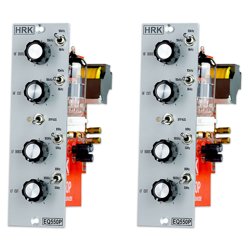 EQ550P | Passive Valve 2 Band Pultec Style EQ | DIYRE EQP5 | Matched Pair -  2 Units | Free Shipping!