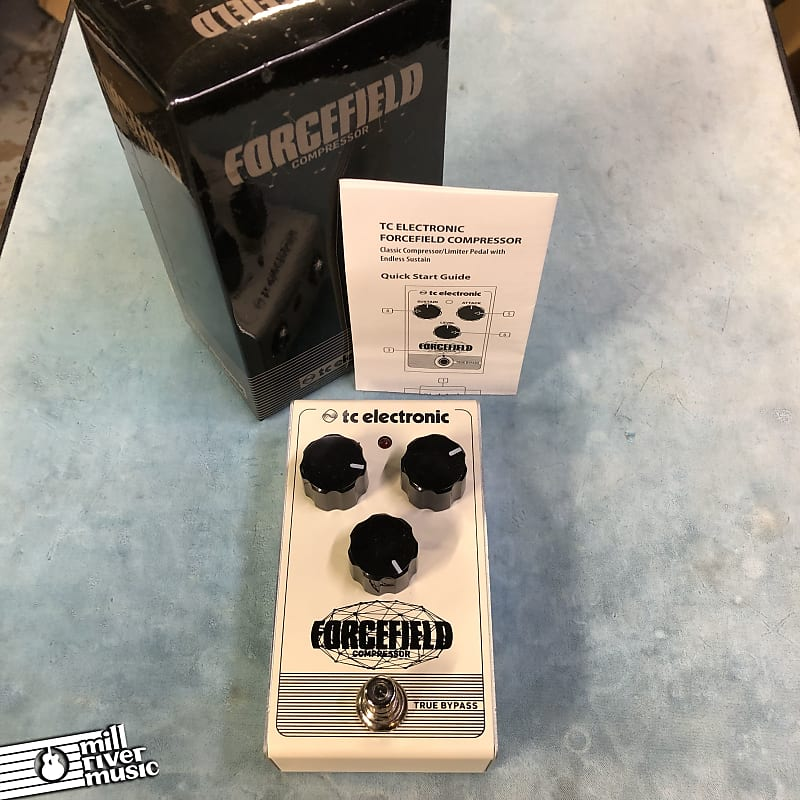 TC Electronic Forcefield Compressor Effects Pedal w/ Box