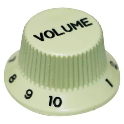 HOSCO KV-24V Volume Potentiometer Knob, Fender Style, Mint (Metric Size) for sale