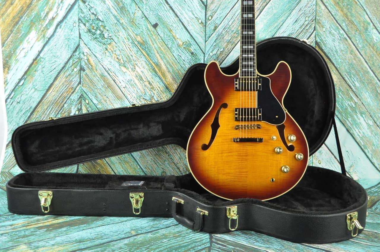yamaha sa2200 ovs semi hollow electric guitar classic double reverb. Black Bedroom Furniture Sets. Home Design Ideas