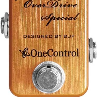 One-Control Golden Acorn Overdrive Pedal for sale