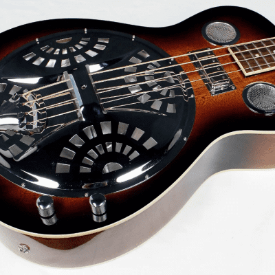 Gold Tone PBB Paul Beard Electro-Acoustic Resonator Acoustic Bass Two Tone Tobacco + Case for sale