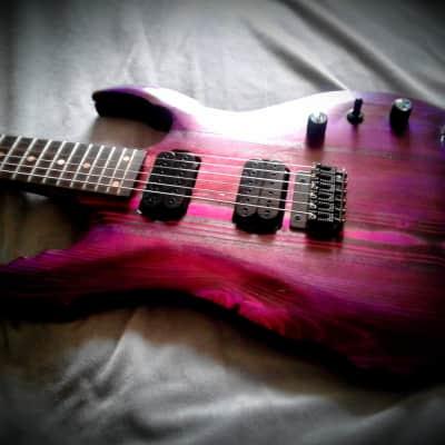 Apocalyptic Guitars Galactic Burn 2019 purple