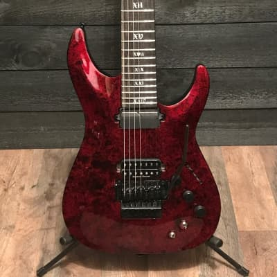 Schecter C-7 FR-S Apocalypse Red Reign 7-String Electric Guitar for sale