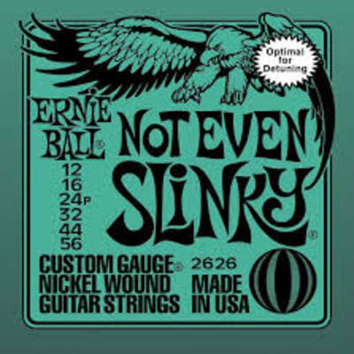 Ernie Ball 2626 Nickel Not Even Slinky Electric Guitar Strings