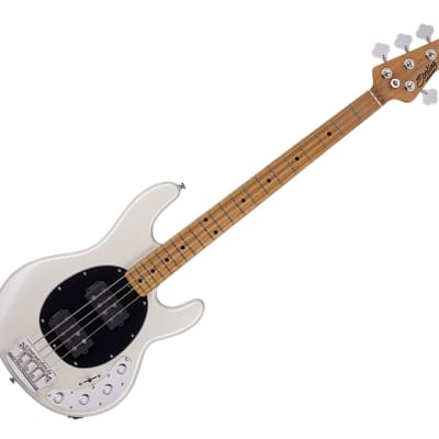 Sterling by Music Man RAY34HH-PWH-M2 StingRay HH Pearl White - b-stock for sale
