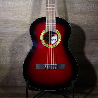 Denver DC34N - 3/4 Size Classical Red for sale