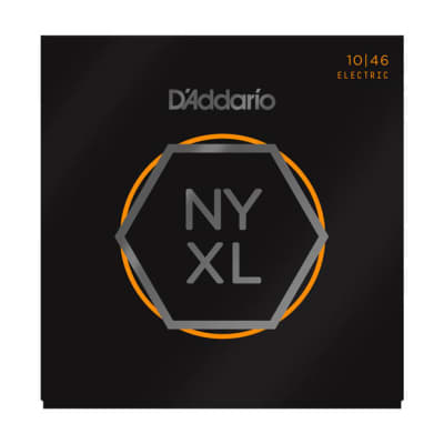 D'Addario NYXL Electric Guitar Strings Regular Light 10-46