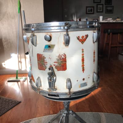 Ludwig White Vintage Marching Snare