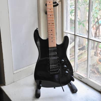 Fender Fender HM Strat HSS  1988 - 1989 Black for sale