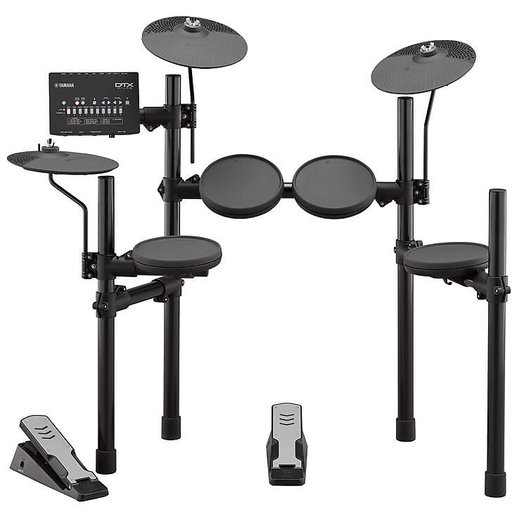 Yamaha DTX402K Electronic Drum Kit (with Throne)