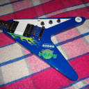 Gibson Flying V Hard Rock Cafe Model - 25 Made N.O.S. 1999 Blue