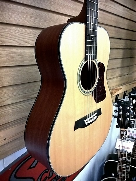 Walden Natura T550 7/8 Travel Guitar Satin Natural ...
