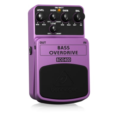 Behringer BOD400 Bass Overdrive Pedal for sale