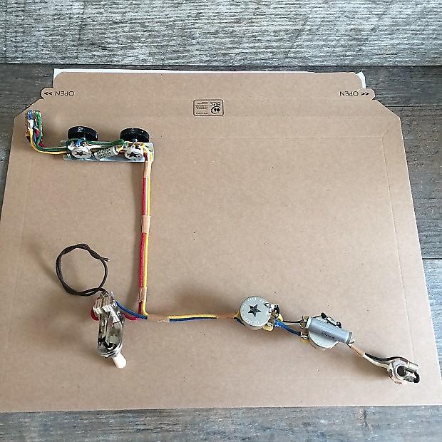 fender jazzmaster wiring harness vintage spec
