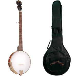 Gold Tone CC-50 Cripple Creek Openback 5-String Banjo
