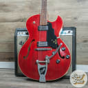 Guild Starfire III 1965 Cherry Red w/ Factory Bigsby