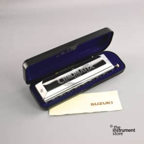 Suzuki SCX-64-C Chromatix 16-Hole Harmonica - Key of C