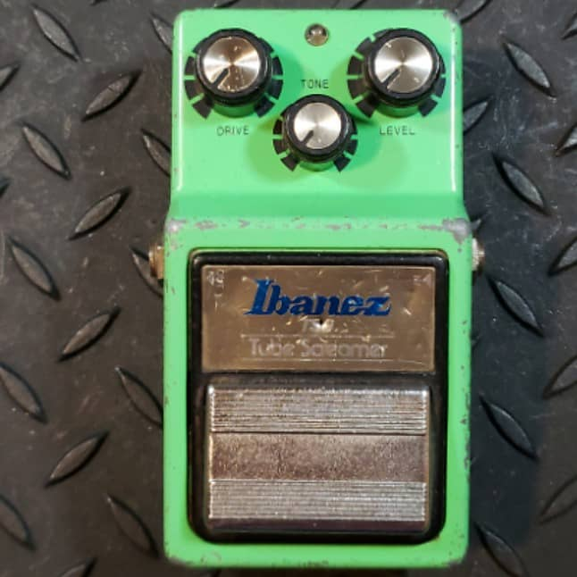 Ibanez TS9 Tube Screamer 1983 TA75558P Chip FREE SHIPPING