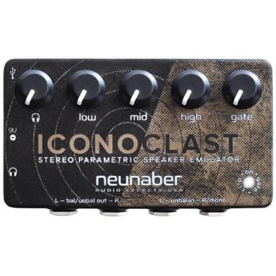 Neunaber Audio Effects ICONOCLAST Stereo Parametric Speaker Emulator Pedal