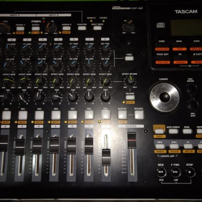 TASCAM DP-02 Digital Portastudio 8-Track Recorder