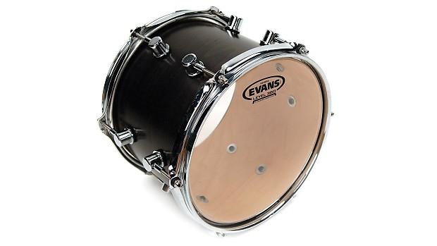 evans 14 inch genera resonant drum head 1 ply tt14gr tom reverb. Black Bedroom Furniture Sets. Home Design Ideas