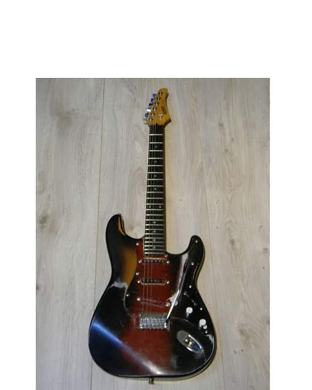 real worn vintage HOHNER PROFESSIONAL ST59 E-Gitarre superstrat guitar 1980` image