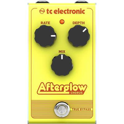 TC Electronic Afterglow Chorus Effect Pedal Regular