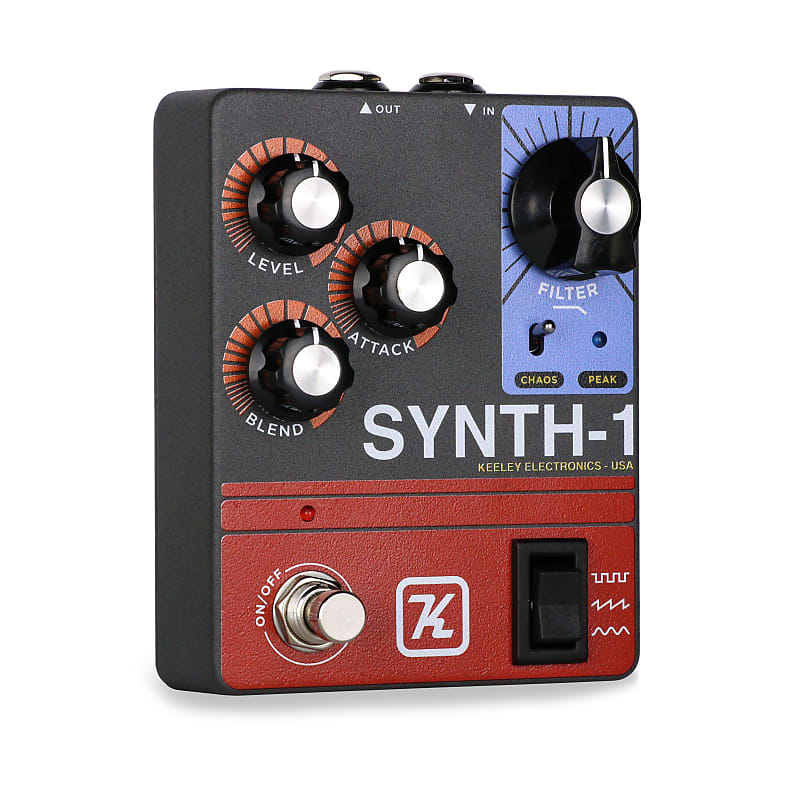 Guitar Synth Pedal >> Keeley Synth 1 Guitar Synth Pedal Licario Reverb