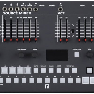 Malekko Heavy Industry Manther Tabletop Analog Monosynth