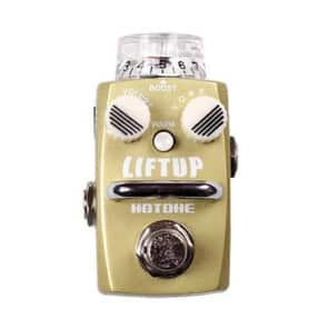 Hotone Liftup Clean Boost Distortion Skyline Series Stompbox Guitar Pedal for sale