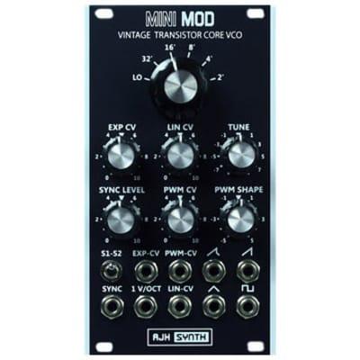 AJH Synth MiniMod Vintage Transistor Core VCO - Black