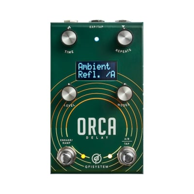 GFI Systems Orca Stereo Delay Pedal