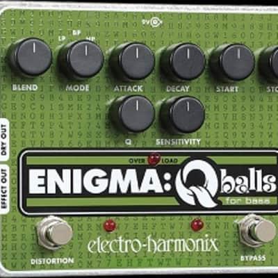 Electro-Harmonix Enigma Q Balls Bass Envelope Filter Pedal