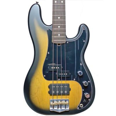 Form Factor Audio FPM34 4-String Bass Guitar w/ Ulyate Pickups 3-Tone Sunburst for sale