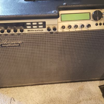 Johnson Millenium JM-150 2x12 Stereo Combo Guitar Amplifier with J12 foot pedal for sale