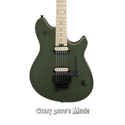 EVH Wolfgang Special with Floyd Rose 2018 Matte Army Drab