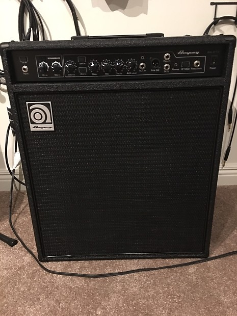 ampeg ba 210 v2 2016 black reverb. Black Bedroom Furniture Sets. Home Design Ideas