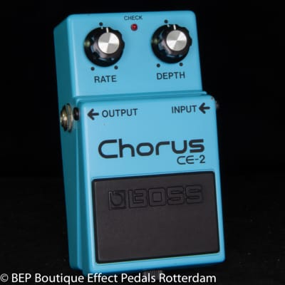 Boss CE-2 Chorus 1986 Japan s/n 662100 as used by Josh Klinghoffer, Johnny Marr, Jimmy Page