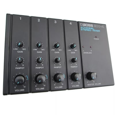 Boss BX-4 4-Channel Stereo Mixer
