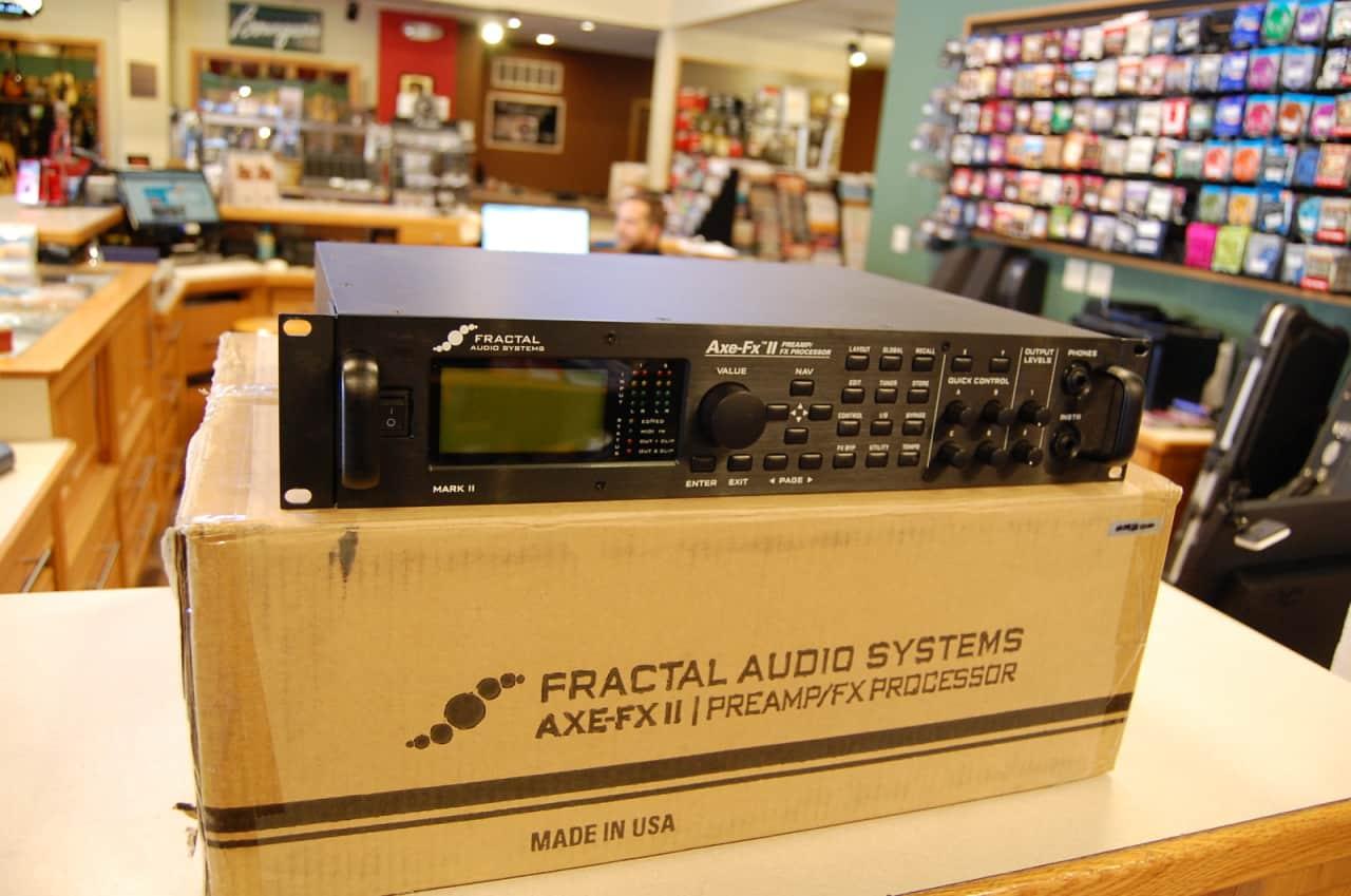 Fractal Audio AxeFx II Amp Matching Home Studio t