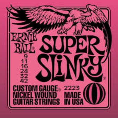 Ernie Ball 2223 Nickel Super Slinky Custom Gauge Electric Guitar