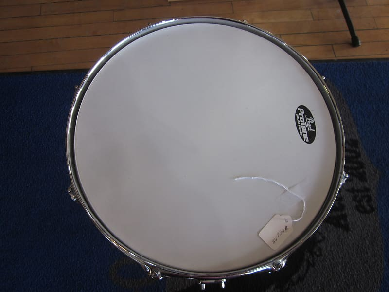 used pearl limited edition snare drum champagne chrome with reverb. Black Bedroom Furniture Sets. Home Design Ideas