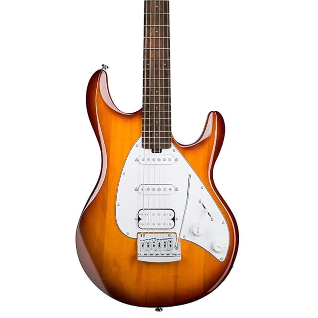 Sterling S.U.B. Series Silo3 Silhouette Electric Guitar, Sunburst image
